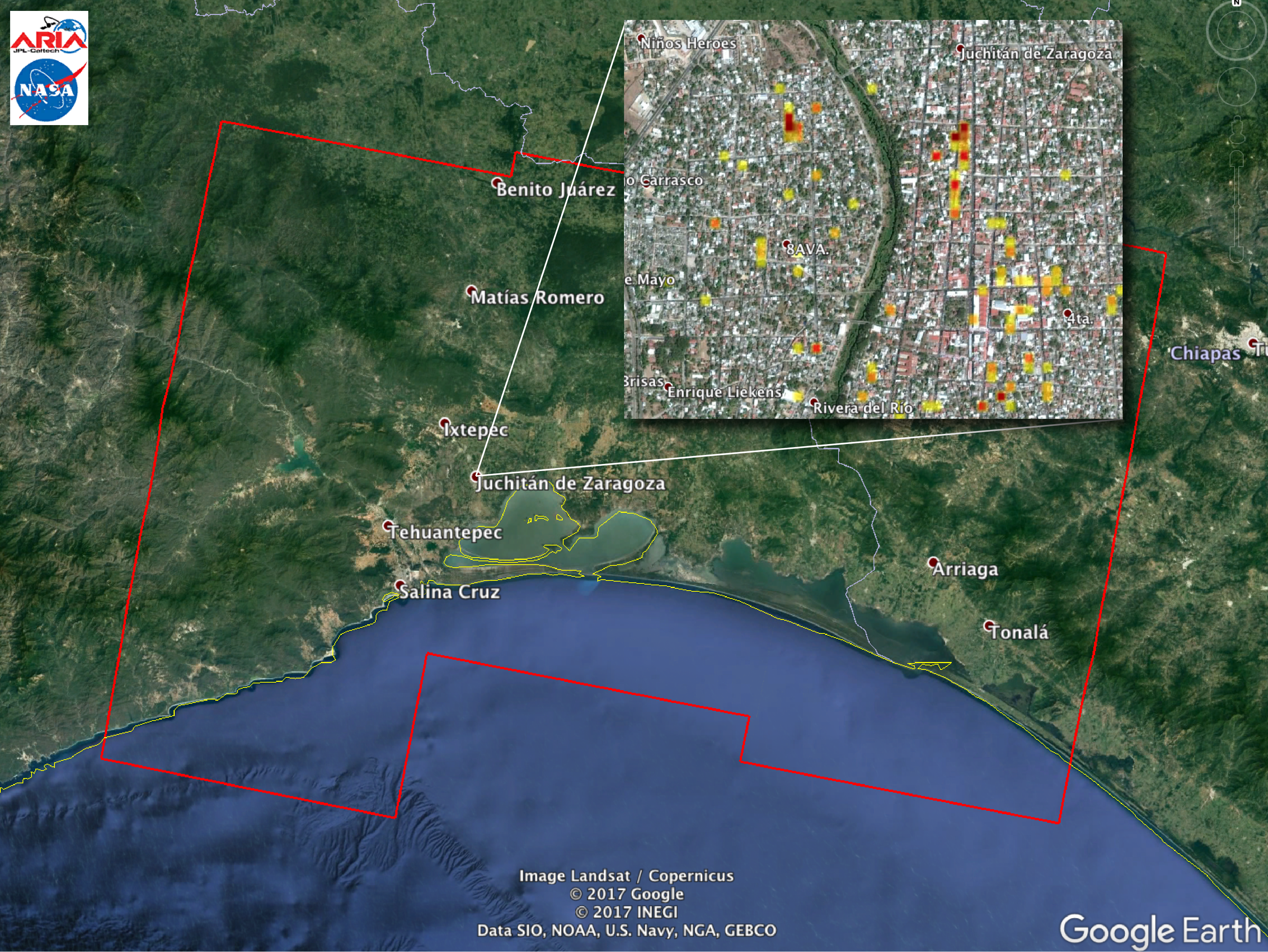 Southern Mexico Earthquake 2017 | NASA Earth Science ...