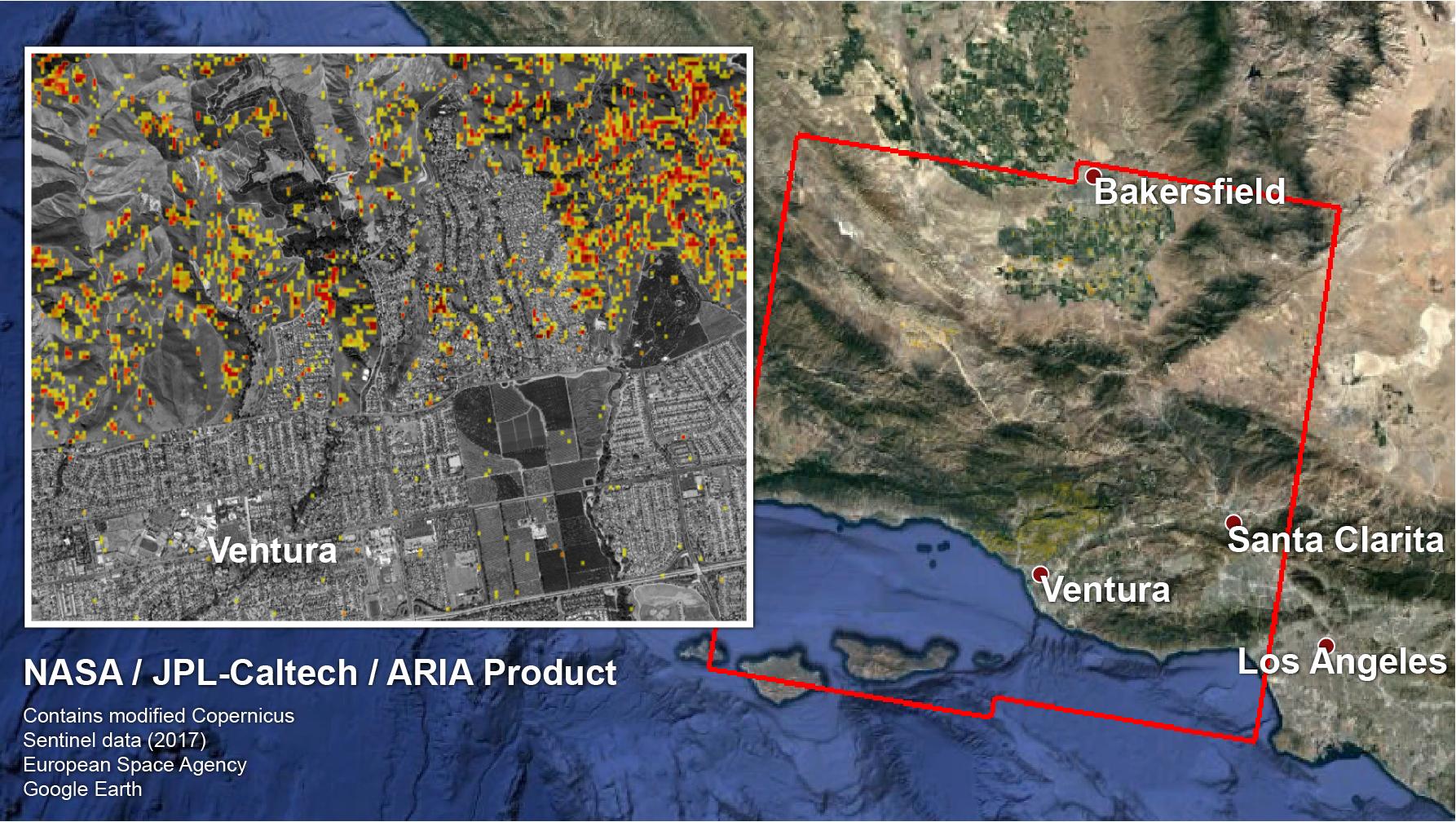 Damage of Southern CA Wildfires Mapped by NASA   NASA Earth
