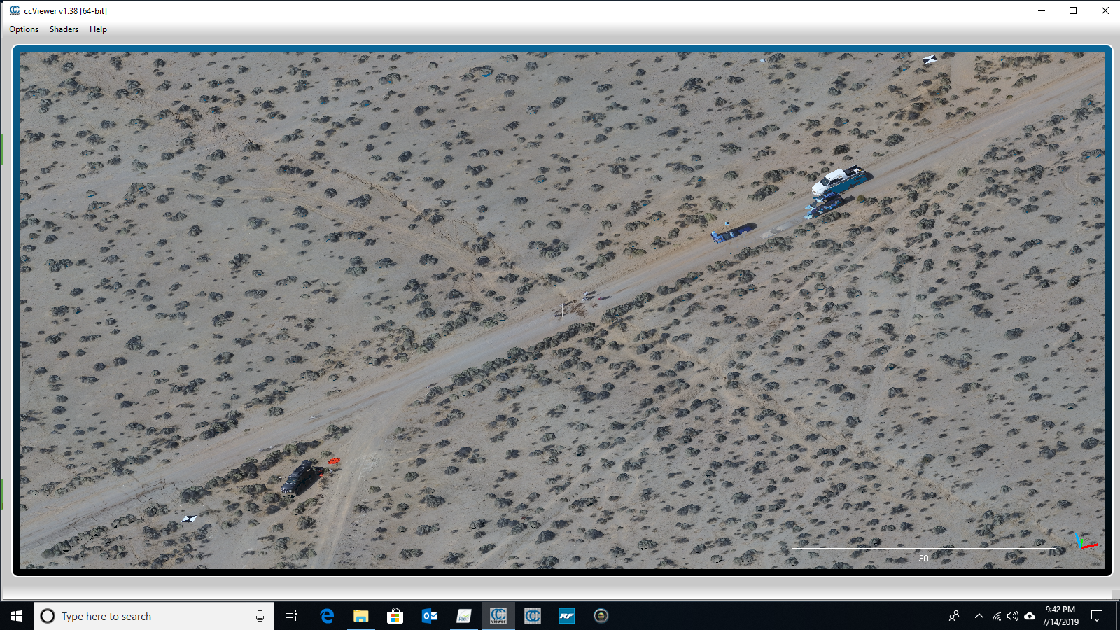 NASA GeoGateway Team Uses Drones to Map in 3D the 2019