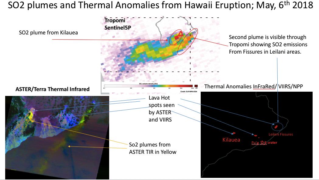 Wondrous Satellite Views Of So2 And Lava Thermal Anomalies From Volcanic Wiring Database Ittabxeroyuccorg