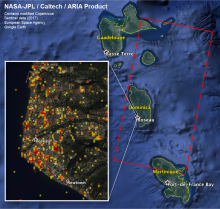 ARIA Damage Proxy Map of Dominica from Hurricane Maria