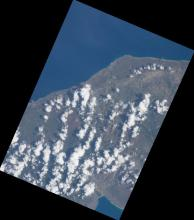 ISS Georeferenced Digital Camera Images from Hispaniola flooding 2017