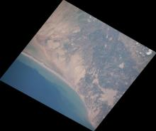 Example ISS image from Peru Flooding 2017.